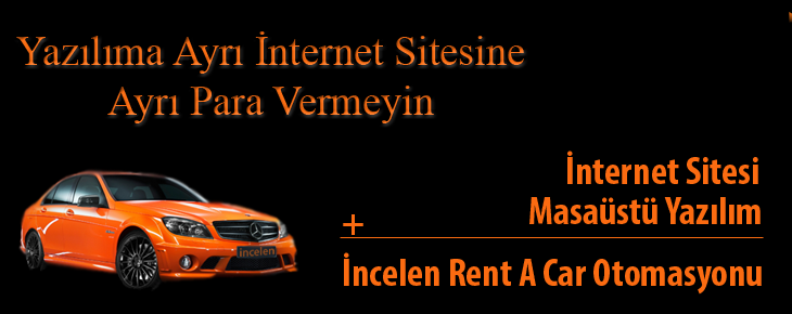 İncelen Rent A Car Otomasyonu